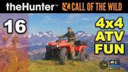 CALL OF THE WILD ★ Episode 16 ★ 4x4 ATV Fun