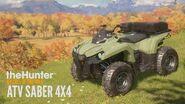 TheHunter- Call of the Wild - ATV SABER 4x4 Trailer