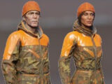 Blazing Orange Outfit