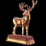 Red deer bronze