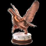 Willow ptarmigan bronze