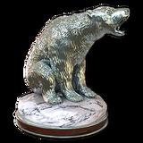 Polar bear silver
