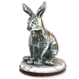 Snowshoe hare silver