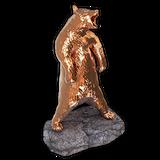Black bear bronze