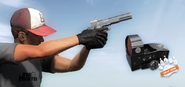 Scope handgun red dot teaser 1