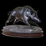 Wild boar hematite