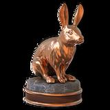 European rabbit bronze
