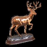 Mule deer bronze