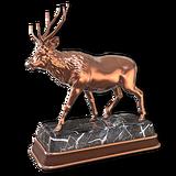 Sambar deer bronze