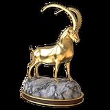 Alpine ibex gold