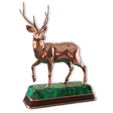 Rusa deer bronze