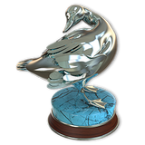 American black duck silver