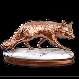 Arctic fox bronze