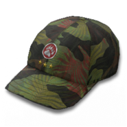 Basic cap tropical camo