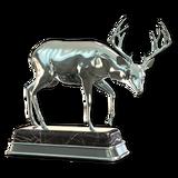 Blacktail deer silver