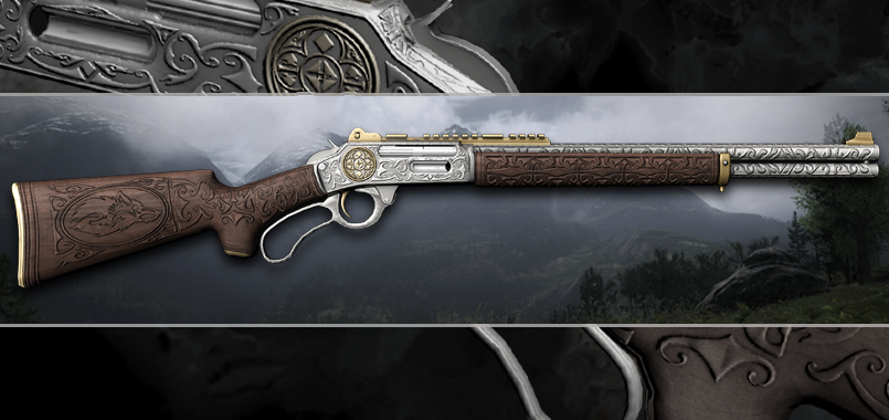 .45-70 Government Lever Action Rifle (Engraved)