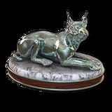Eurasian lynx silver