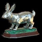 Cottontail rabbit silver