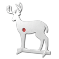 Deployable target deer
