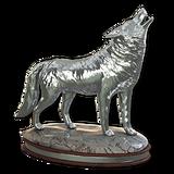 Grey wolf silver