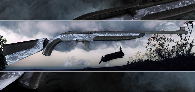 .22 Semi-Automatic Rifle Plinkington