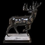 Whitetail deer hematite