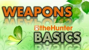 TheHunter_BASICS_-_Weapons