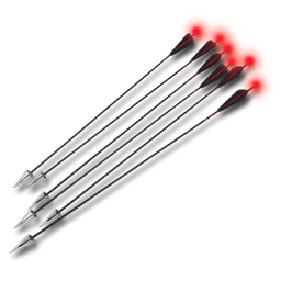 Compound Arrows (Red Tracer Flare)