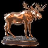 Moose bronze