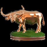 Water buffalo bronze