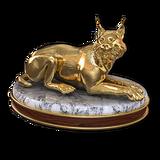 Eurasian lynx gold