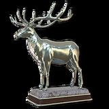 Roosevelt elk silver