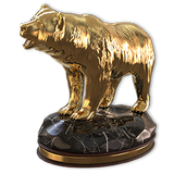 Grizzly bear gold