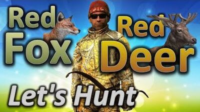 TheHunter_Let's_Hunt_RED_FOX_and_RED_DEER