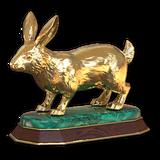 Cottontail rabbit gold