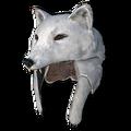 Arctic fox hat