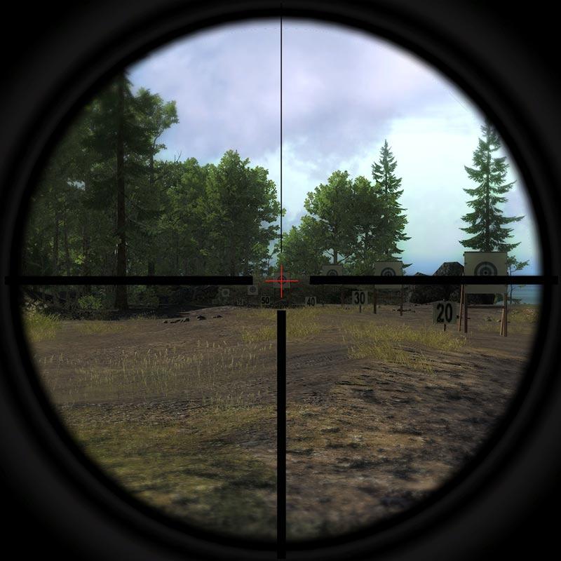2-4x20mm Handgun Scope