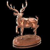 Axis deer bronze