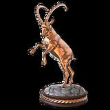 Feral goat bronze