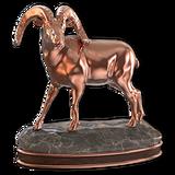 Bighorn sheep bronze