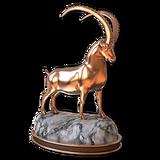 Alpine ibex bronze