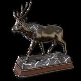 Sambar deer hematite