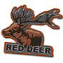 Red deer badge.png