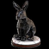Snowshoe hare hematite