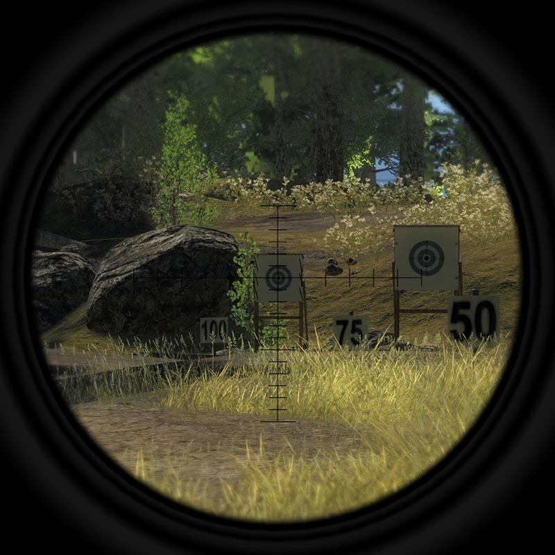 12x50mm Rifle Scope