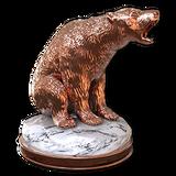Polar bear bronze