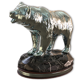 Grizzly bear silver