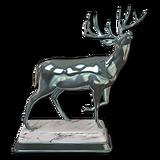 Whitetail deer silver