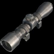 2-6x20mm Handgun Scope (Silver)