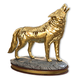 Grey wolf gold